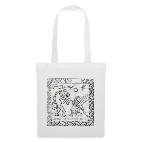 Le Dieu Odin contre le loup Fenrir - Tote Bag
