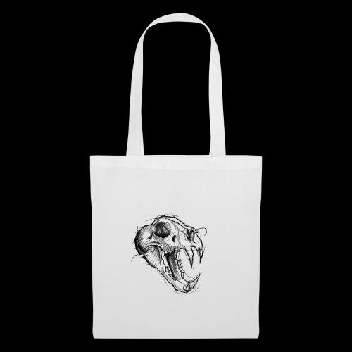 Teschio Tigre - Borsa di stoffa