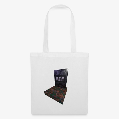 mc rip gravestone - Tote Bag