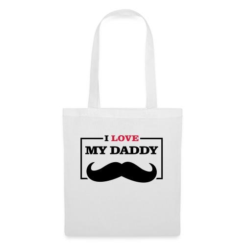 LOVE DADDY - Borsa di stoffa