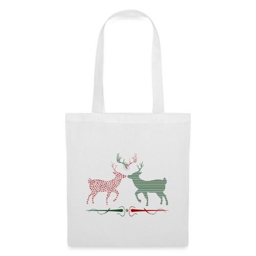 Christmas deer - Tote Bag