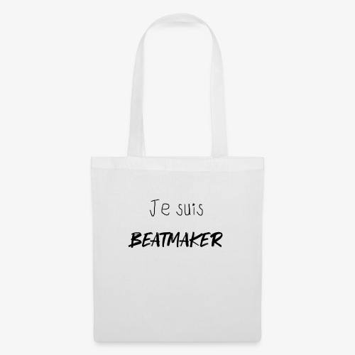 Je suis BEATMAKER (black) - Tote Bag