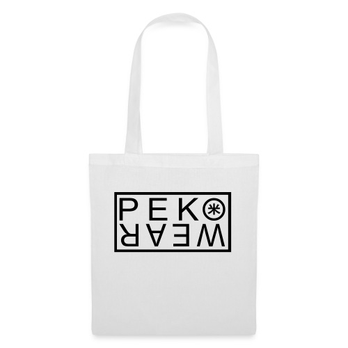 peko wear vector - Tote Bag