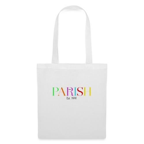 Jessica Parish Color-Schriftzug - Stoffbeutel