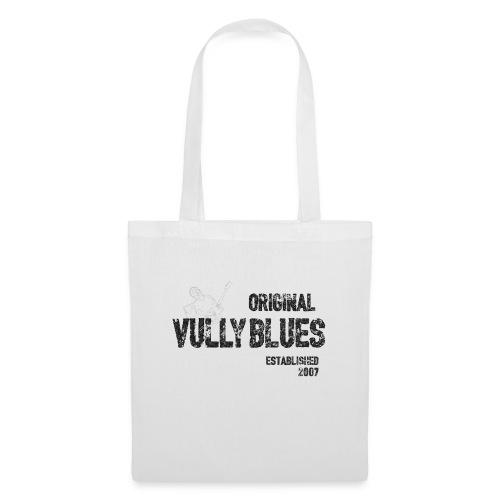 Original Vully Blues Black Logo - Stoffbeutel