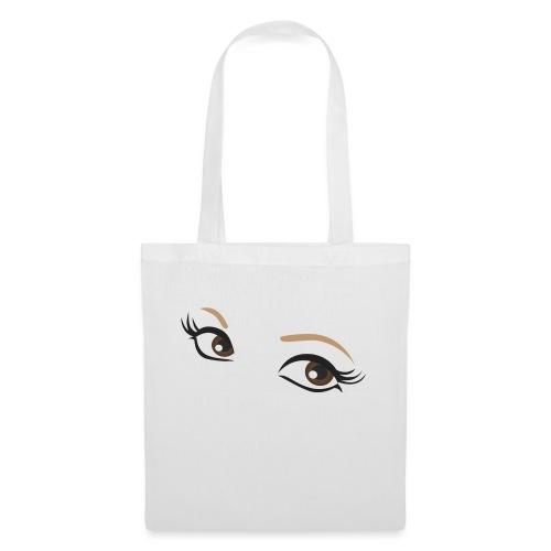 oczy - Torba materiałowa