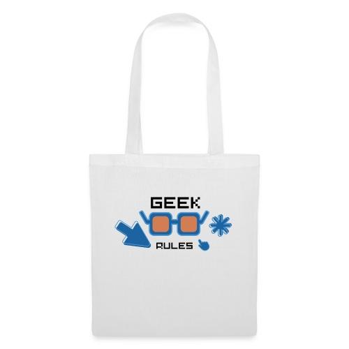 geek rules - Bolsa de tela