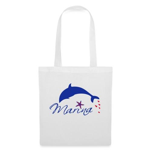 Delfin Maritim Marina - Stoffbeutel
