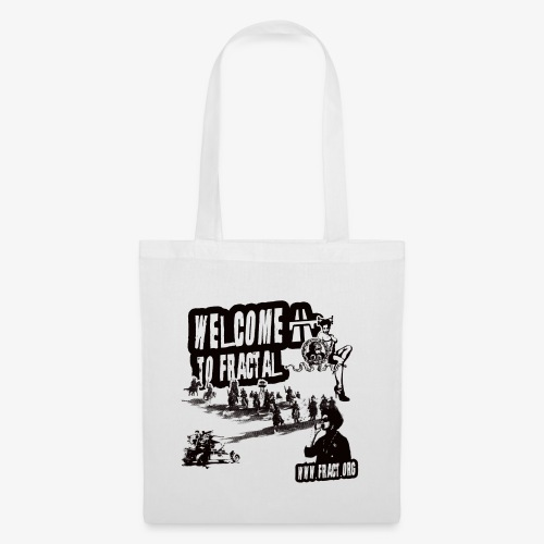 welcome fractal - Tote Bag