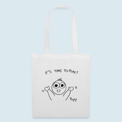 Pupy: time to play! - boy - Borsa di stoffa