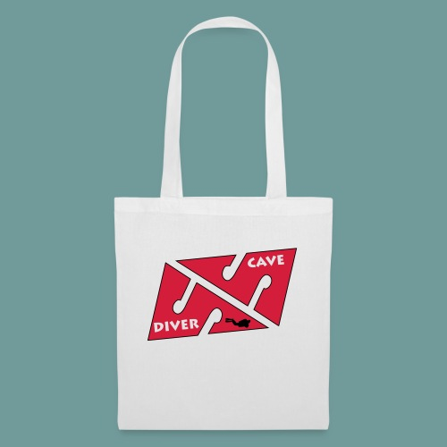 cave_diver_01 - Tote Bag
