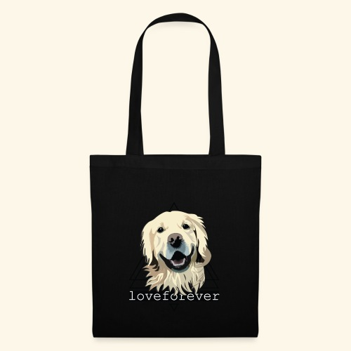 RETRIEVER LOVE FOREVER - Bolsa de tela