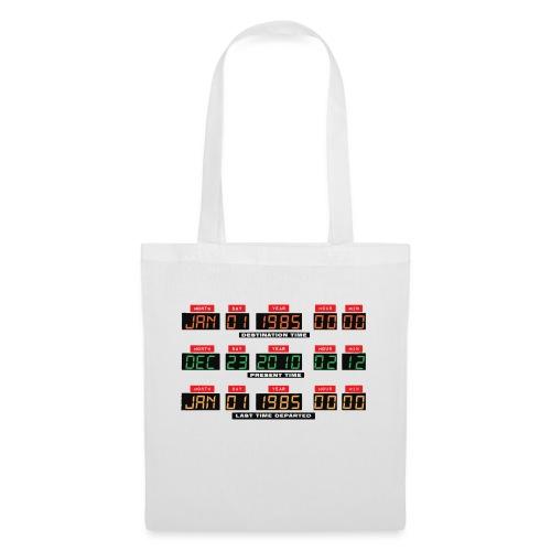 Back To The Future DeLorean Time Travel Console - Tote Bag