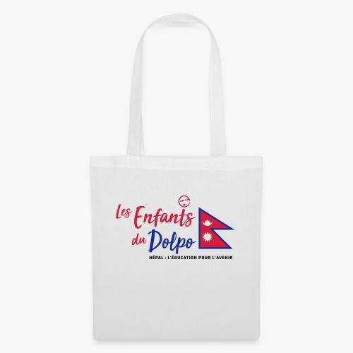 Les Enfants du Doplo - Grand Logo Centré - Tote Bag