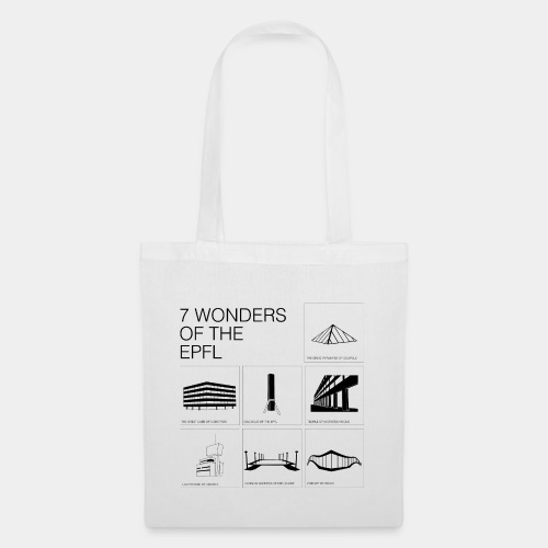 7 wonders epfl bag - Stoffbeutel