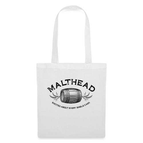 Malthead 01 Dark - Stoffbeutel