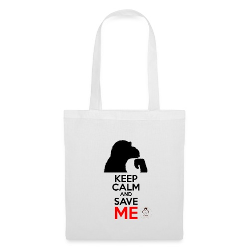 design_keep calm - Sac en tissu
