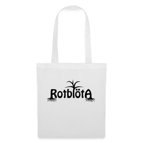 Rotblöta svart logo - Tygväska