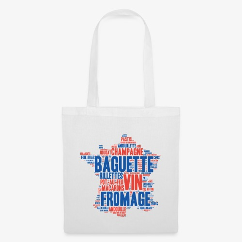 France 2 couleurs - Tote Bag