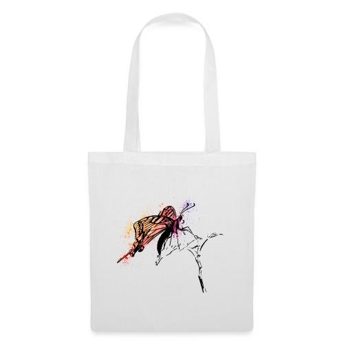 Schmetterling in Aquarelloptik - Stoffbeutel