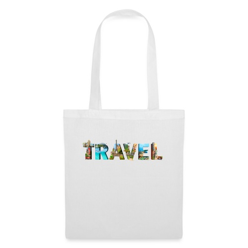 TRAVEL WORD - Bolsa de tela