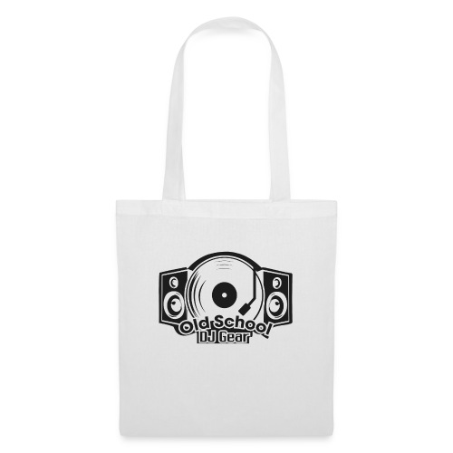 Old School DJ Gear - Stoffbeutel