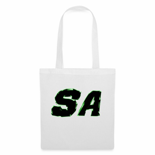 Svart SA Logo - Tygväska