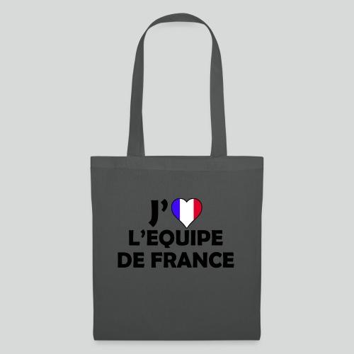 J'aime L'équipe De France (N) - Tote Bag