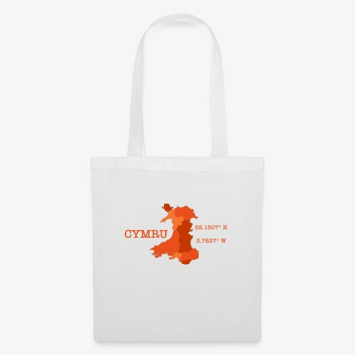 Cymru - Latitude / Longitude - Tote Bag