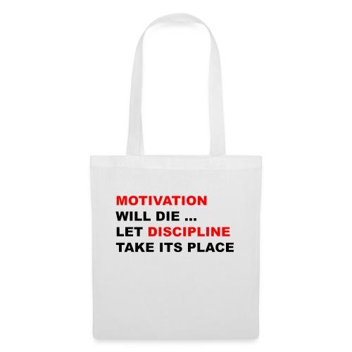 Motivation Discipline - Stoffbeutel