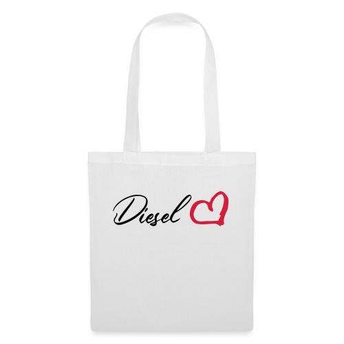 I heart diesel - Stoffbeutel