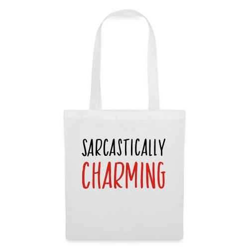 sarcastically charming - Tas van stof