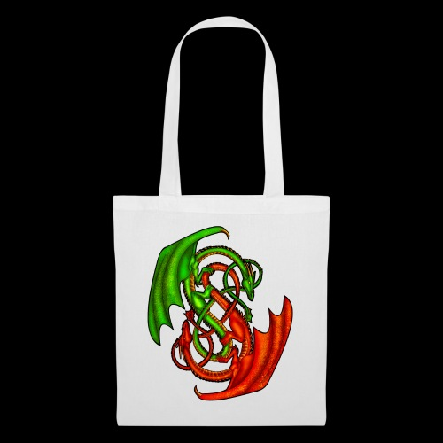 Entwined Dragons - Tote Bag