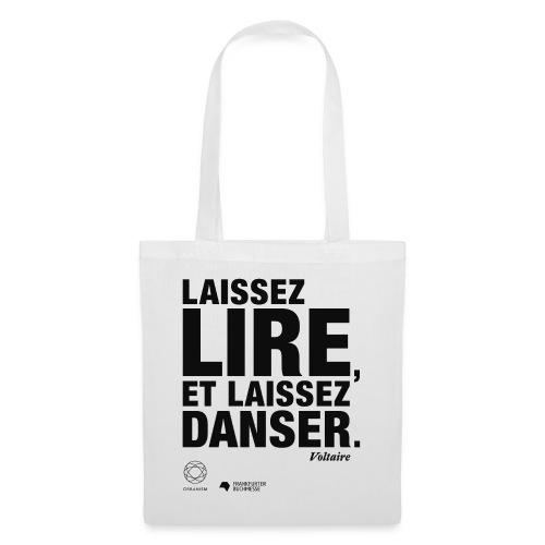 LAISSEZ LIRE   Bookish Merch - Stoffbeutel