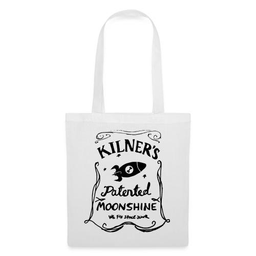 Kilner's Patented Moonshine (Black) - Tote Bag
