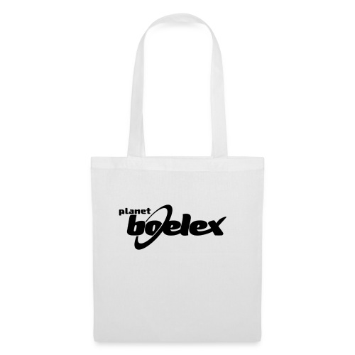 Planet Boelex logo black - Tote Bag