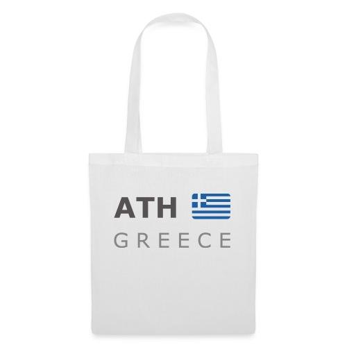 ATH GREECE dark-lettered 400 dpi - Tote Bag
