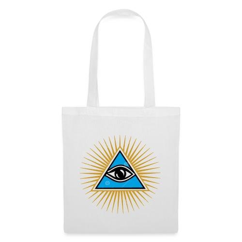 illuminati eye - Bolsa de tela