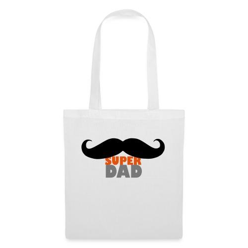 superdad moustache - Stoffbeutel