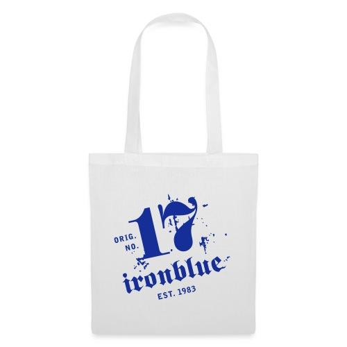 ironblue 17 offen blau trans1 - Stoffbeutel