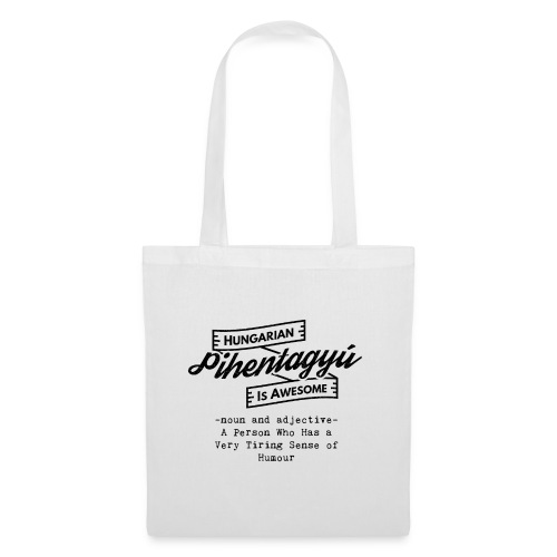 Pientagyu - Hungarian is Awesome (black fonts) - Tote Bag