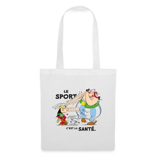 Astérix et Obélix - Le sport c'est la santé - Sac en tissu