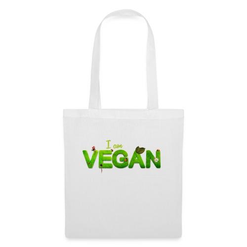 vegan - Stoffbeutel
