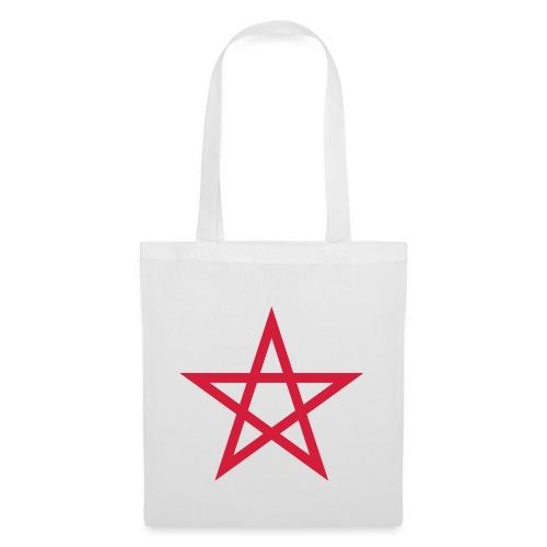 Pentagramme Wicca - Sac en tissu