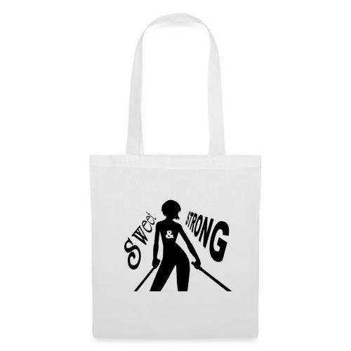 LOGO SWEET & STRONG GIF.gif - Tote Bag