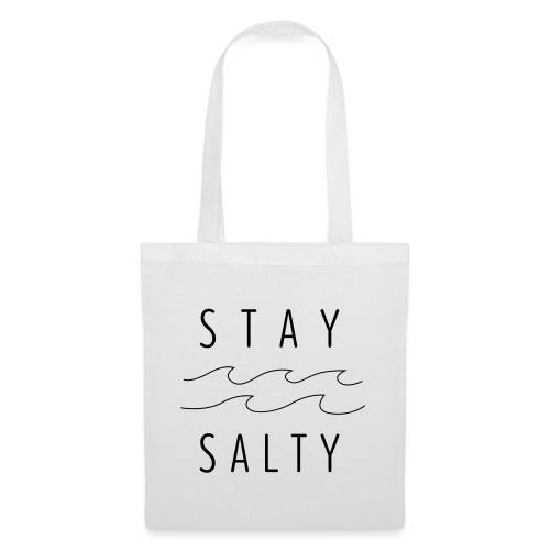 stay salty - Stoffbeutel