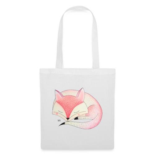 roze vos - Tas van stof