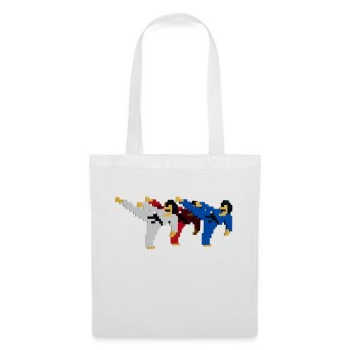8 bit trip ninjas 2 - Tote Bag