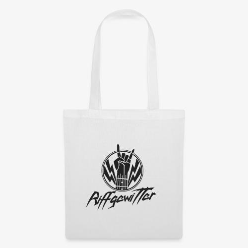Riffgewitter - Hard Rock und Heavy Metal - Stoffbeutel