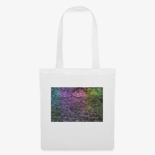 Regenbogenwand - Stoffbeutel